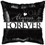 "ALWAYS & FOREVER BALLOON  18""  15187-18"